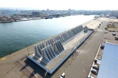 福岡県 博多港 アイランドシティ地区 岸壁L型ブロック製作工事