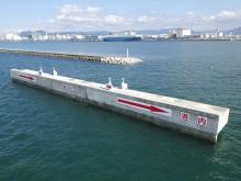 福岡県 令和2年度東防波堤改良工事