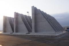 福岡県 博多港 アイランドシティ地区 岸壁L型ブロック製作工事(2次)