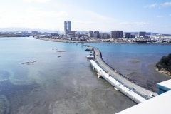 福岡県 アイランドシティ地区 あいたか橋下部工事